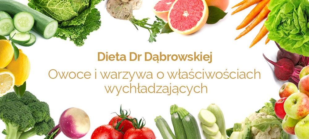 dieta dąbrowskiej owoce warzywa