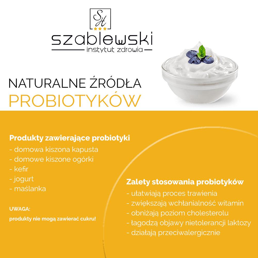 źródła probiotyków