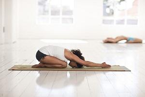 joga pozycja dziecka