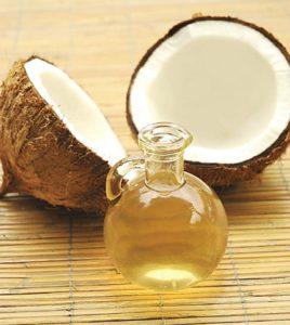 Olej kokosowy w stanie płynnym
